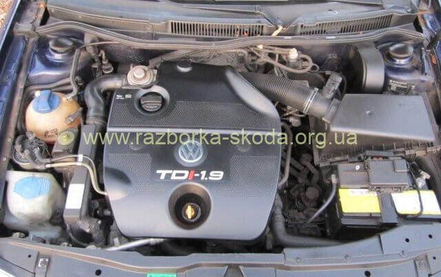 Мотор Шкода Октавия 1.9TDI AGR