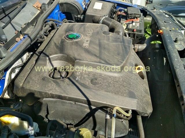 Мотор шкода октавия 1.9TDI