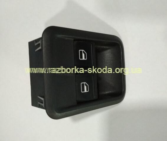 1Z0959858 блок управления стеклоподъемниками б/у Skoda Fabia New