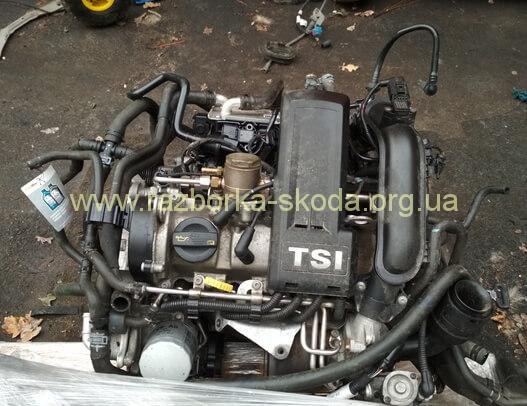 Двигатель б/у CBZB Шкода Рапид 1.2TSI