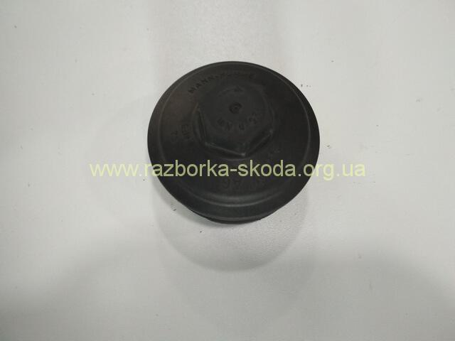 045115433E Крышка корпуса масляного фильтра б/у Шкода Октавиа А5