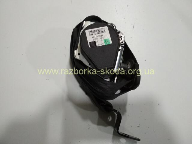 6RG857706B Ремень безопасности передний правый б/у Шкода Рапид