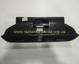 5ja820951 Дефлектор обдува салона, воздуховод центральный Шкода Рапид