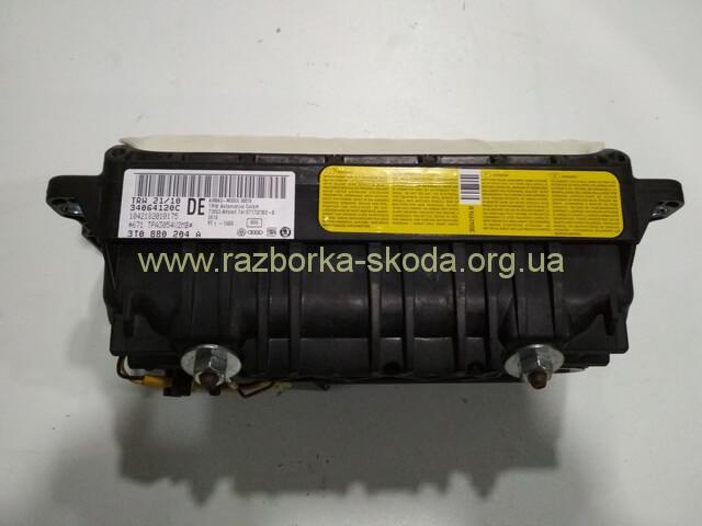 3T0880204A Подушка безопасности пассажира в торпеду б/у Шкода СуперБ 2008-2015