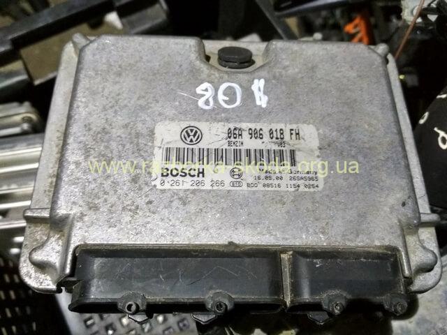 06A906018FH Блок управления двигателем 2.0I б/у Шкода Октавия Тур