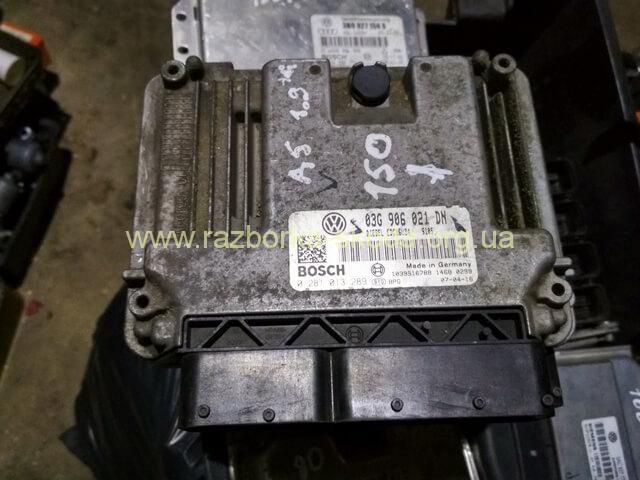 03G906021DN Блок управления двигателем б/у 1.9TDI Шкода Октавия A5 СуперБ