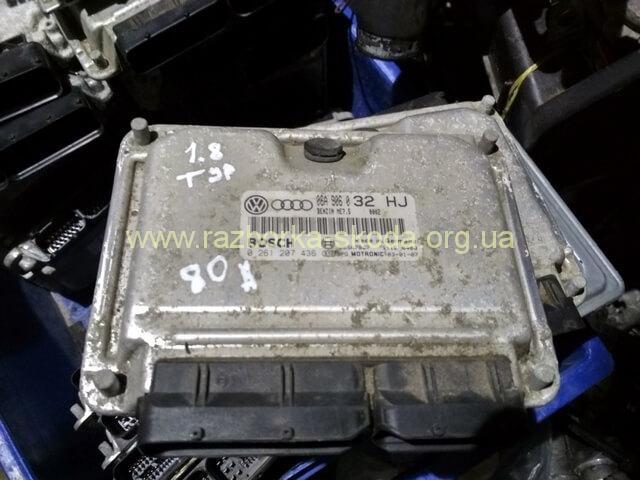 06A906032HJ Блок управления двигателем 1.8T б/у Шкода Октавия Тур