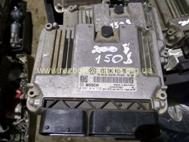 03G906021TD Блок управления двигателем б/у 2.0TDI Шкода Октавия A5