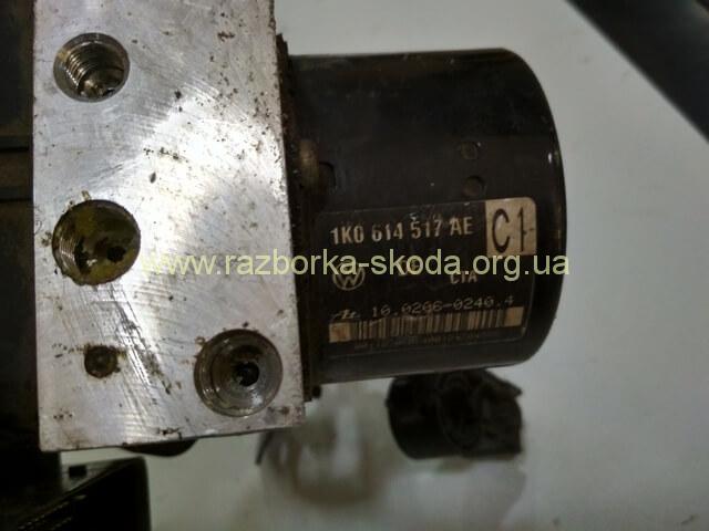 1K0614517AE 1K0907379AC Блок управления ABS б/у Шкода Октавия А5 2004-2013